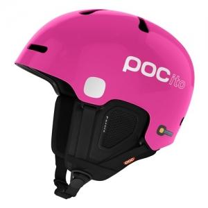 Detská lyžiarska prilba POCito Fornix - Fluorescent Pink
