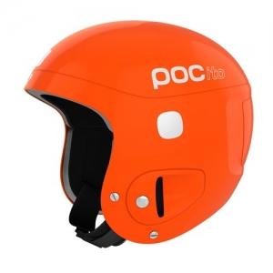 Detská lyžiarska prilba POCito Skull - Fluorescent Orange