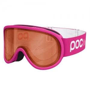 Detské lyžiarske okuliare POC POCito Retina - Fluorescent Pink