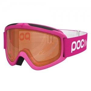 Detské lyžiarske okuliare POC POCito Iris - Fluorescent Pink