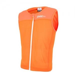 Detský lyžiarsky chránič POC POCito VPD Spine Vest fluorescent orange
