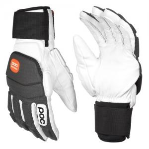Lyžiarske rukavice POC Super Palm Comp - Hydrogen White