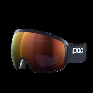Lyžiarske okuliare POC Orb Clarity - uranium black/spektris orange