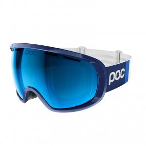 Lyžiarske okuliare POC Fovea Clarity Comp - lead blue/spektris blue