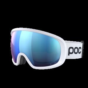 Lyžiarske okuliare POC Fovea Clarity Comp - hydrogen white/spektris blue