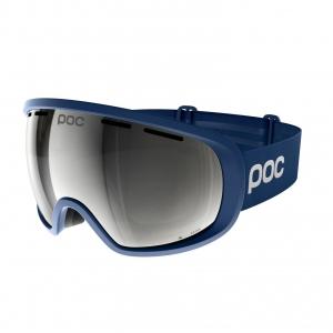 Lyžiarske okuliare POC Fovea Clarity Comp - american downhiller lead blue  spektris silver 8795c4641af