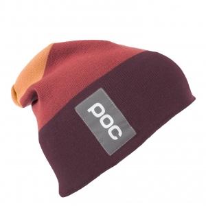 Lyžiarska čiapka POC Multicolor Beanie - rubidum multi red