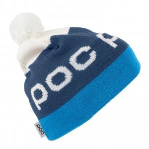 Lyžiarska čiapka POC Stripe Pom Beanie - butylene blue/niob blue
