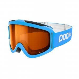 Detské lyžiarske okuliare POC POCito Iris - Fluorescent Blue