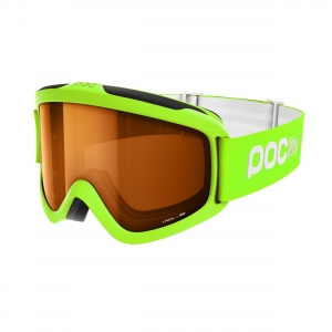 Detské lyžiarske okuliare POC POCito Iris - Fluorescent Green