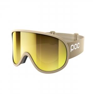 Lyžiarske okuliare POC Retina Big Clarity rhodium beige/spektris gold