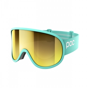 Lyžiarske okuliare POC Retina Big Clarity tin blue/spektris gold