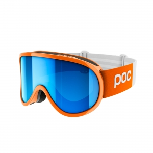 Lyžiarske okuliare POC Retina Big Clarity Comp zink orange/spektris blue