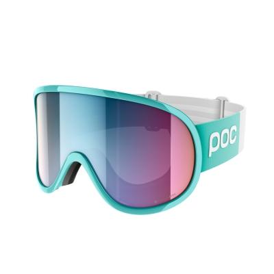 Lyžiarske okuliare POC Retina Big Clarity Comp tin blue/spektris pink