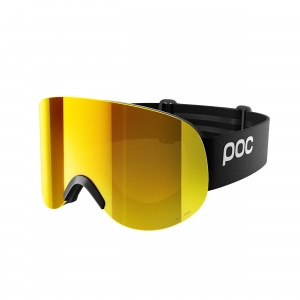 Lyžiarske okuliare POC Lid Clarity uranium black/spektris orange