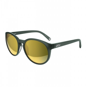 Slnečné okuliare POC Know haf green translucent brown/gold mirror
