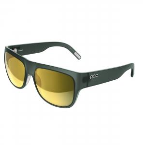 Slnečné okuliare POC Want harf green translucent brown/gold mirror