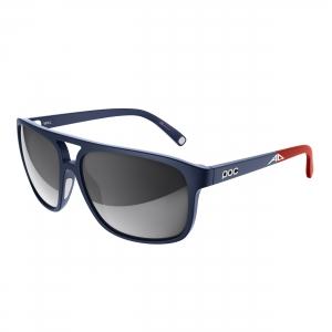 Slnečné okuliare POC Will AD lead blue grey/white mirror