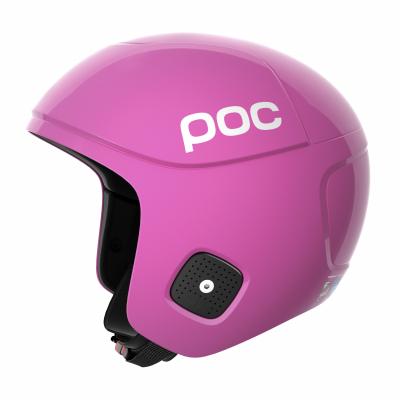 Lyžiarska prilba POC Skull Orbic X SPIN actinium pink shiny