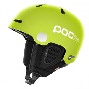 Detská lyžiarska prilba POCito Fornix Fluorescent Green shiny