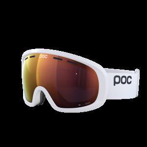 Lyžiarske okuliare POC Fovea Mid Clarity hydrogen white/spektris orange