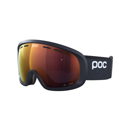 Lyžiarske okuliare POC Fovea Mid Clarity uranium black/spektris orange