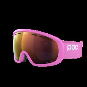Lyžiarske okuliare POC Fovea Mid Clarity antinium pink/spektris orange