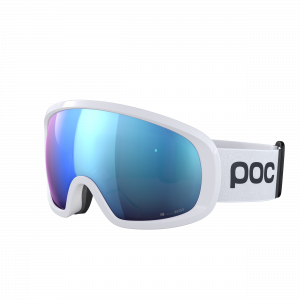 Lyžiarske okuliare POC Fovea Mid Clarity Comp hydrogen white/spektris blue
