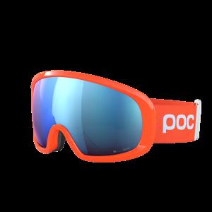 Lyžiarske okuliare POC Fovea Mid Clarity Comp fluorescent orange/spektris blue