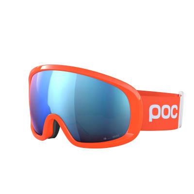 Lyžiarske okuliare POC Fovea Mid Clarity Comp fluorescent orange/spektris blue