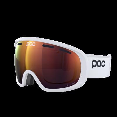 Lyžiarske okuliare POC Fovea Clarity hydrogen white/spektris orange