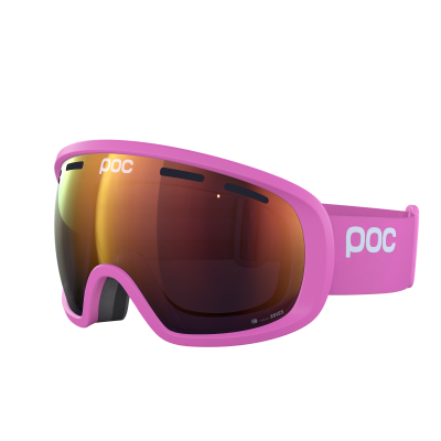 Lyžiarske okuliare POC Fovea Clarity actinium pink/spektris orange