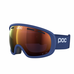 Lyžiarske okuliare POC Fovea Clarity lead blue/spektris orange