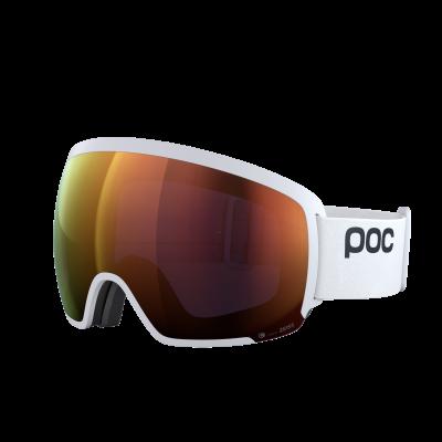 Lyžiarske okuliare POC Orb Clarity hydrogen white/spektris orange