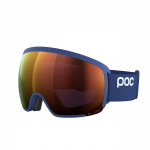 Lyžiarske okuliare POC Orb Clarity lead blue/spektris orange