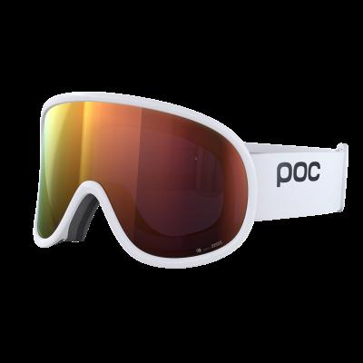 Lyžiarske okuliare POC Retina Big Clarity hydrogen white/spektris orange