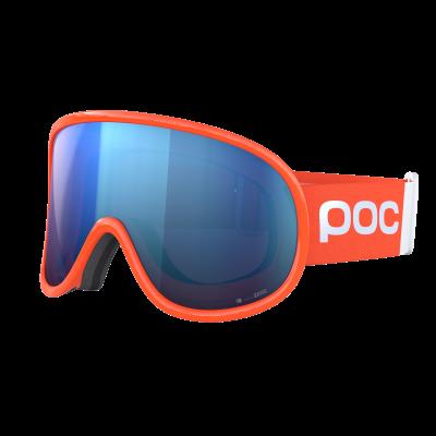 Lyžiarske okuliare POC Retina Big Clarity fluorescent orange/spektris blue