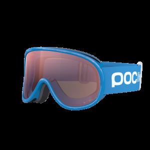 Detské lyžiarske okuliare POC POCito Retina Fluorescent Blue