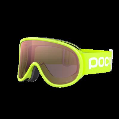 Detské lyžiarske okuliare POC POCito Retina Fluorescent Green