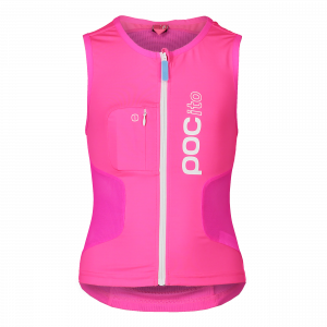 Detský lyžiarsky chránič POC POCito VPD Air Vest fluorescent pink