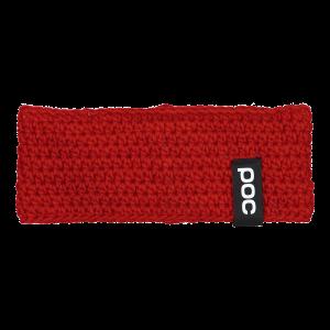 Lyžiarska čelenka POC Crochet Headband prismane red